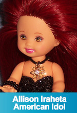 Allison Iraheta - American Idol 2009 OOAK Custom  Kelly Barbie Doll by TorresDesigns