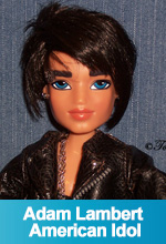 Adam Lambert American Idol 2009 OOAK Custom Bratz Doll by Torres Designs