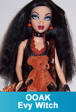 "OOAK New My Scene Barbie Doll called ""Evy - The Witch"" by Torres Designs"