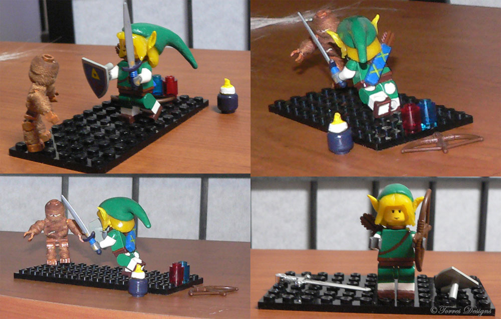 Lego LINKS with Re-Dead