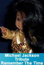 "Michael Jackson - Tribute ""Remember The Time""  OOAK Custom Tommy Barbie Doll as Michael Jackson by TorresDesigns"