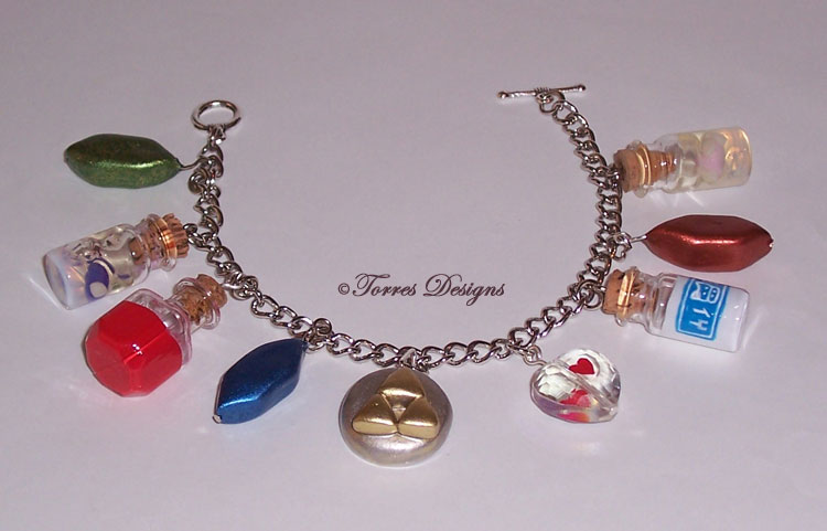 Legend of Zelda Charm Braceletracelet