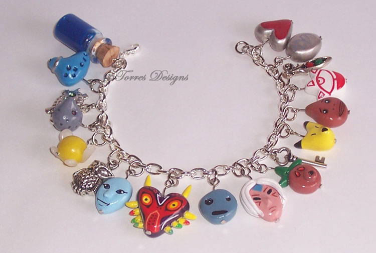 Majora's Mask Charm Bracelet #2 Legend of Zelda