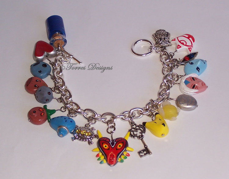 Majora's Mask Charm Bracelet #3 Legend of Zelda