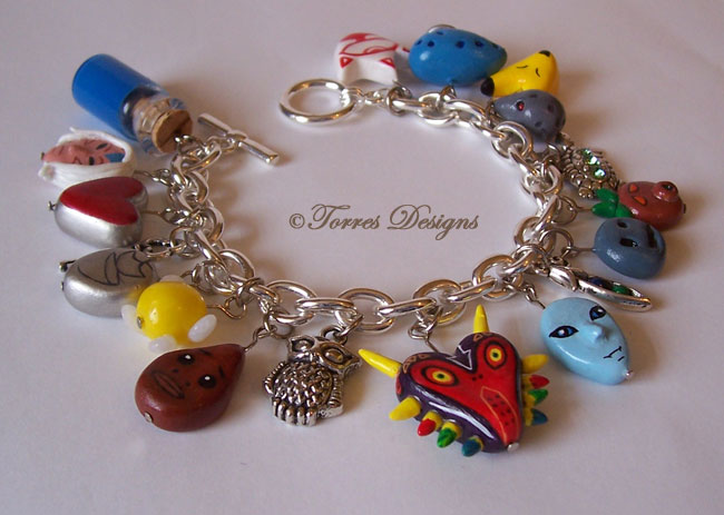 Majora's Mask Charm Bracelet Legend of Zelda