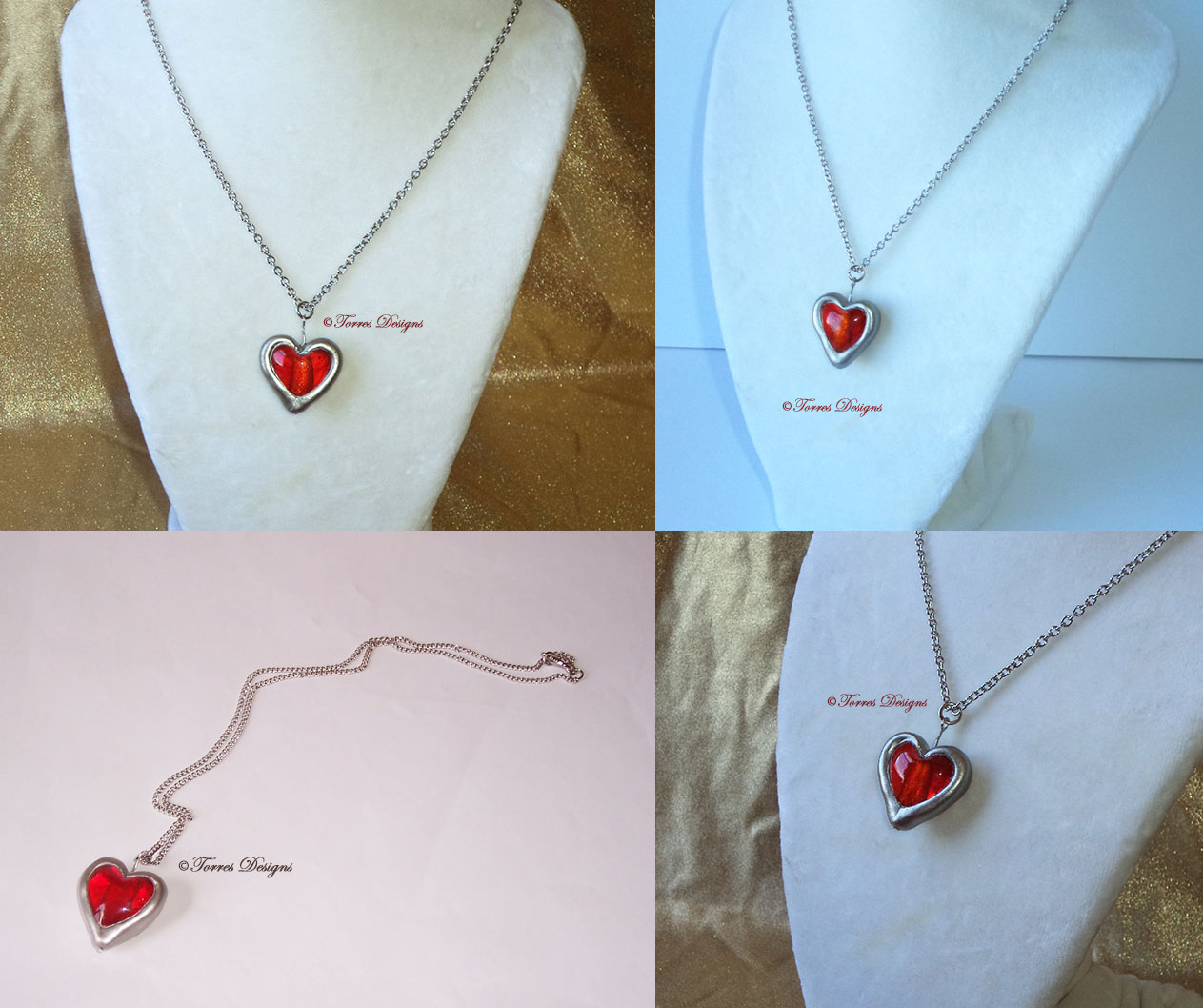 Heart Container Pendant Necklaces – Legend of Zelda OoT