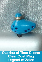 Ocarina of Time Clear Dust Plug Charm Legend of Zelda