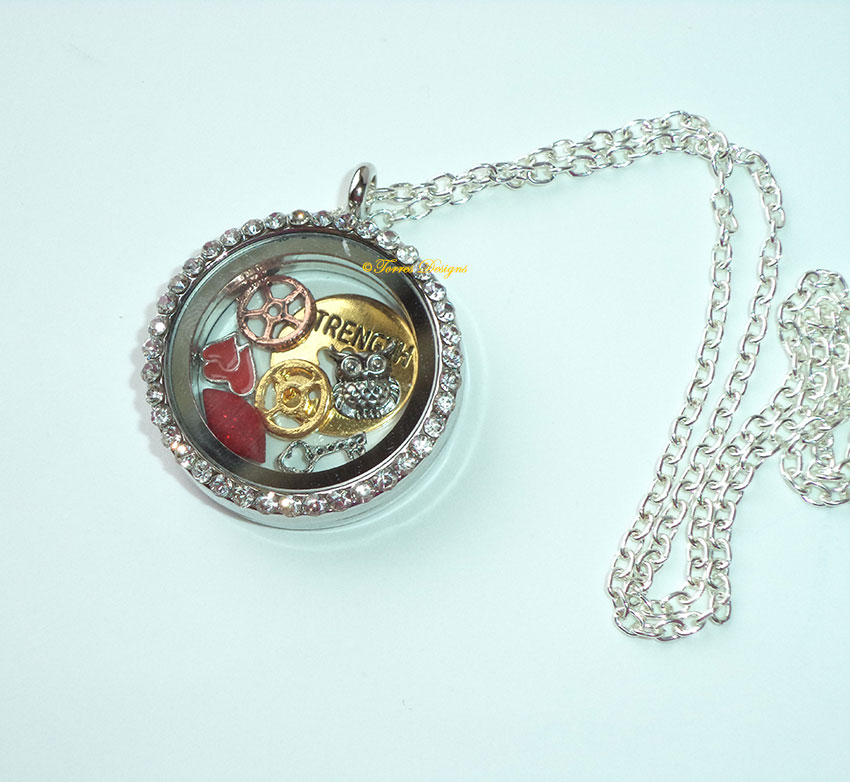 Legend of Zelda Majora's Mask Story Locket Floating Pendant Necklace Metal Charms Custom Clay Charm