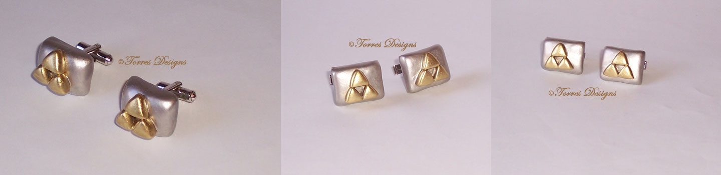 Triforce CuffLinks Legend of Zelda – Ocarina of Time