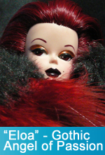 Eloa - Gothic Angel of Passion OOAK Silkstone Barbie Doll by TorresDesigns